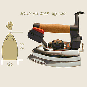 ferro elettrovapore Jolly All Star 2F Kg 1,850